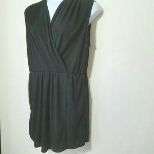 Rachel Rachel Roy black mini wrap dress Size XXL